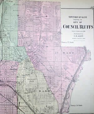 City plan for Council Bluffs