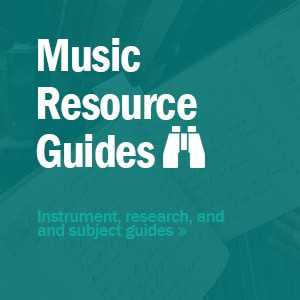 music resource guides