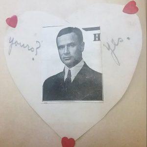 Old heart Valentine