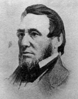 Amos Dean, first president of the University of Iowa