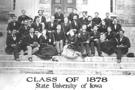 State University of Iowa Class of 1878