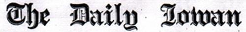 Daily Iowan masthead, 1929
