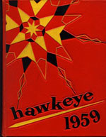 Hawkeye annual cover, 1959