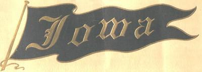 University pennant, 1909