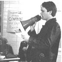 Student protestor, 1970
