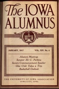 Iowa Alumnus cover, 1917