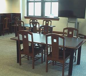 3rd floor study area