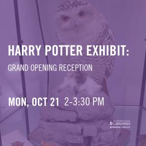 Harry Potter Exhibit: Grand Opening