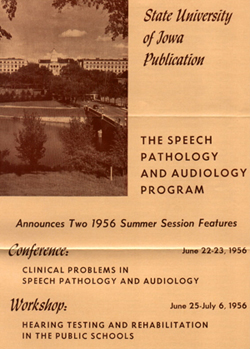 Audiology and Speech Pathology what subjects are given in college