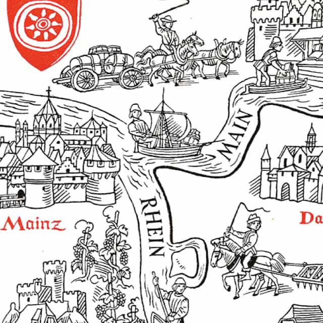 <p>The Atlas of Early Printing provides an interactive tool for teaching the early history of printing in Europe during the second half of the fifteenth century.</p>