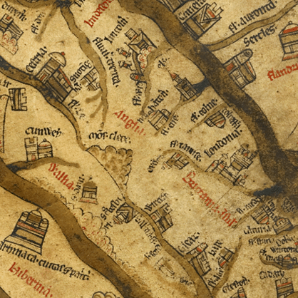 <p>Remappings: Christians and Jews in Early England enables users to explore Jewish-Christian interaction in England during the middle ages and renaissance.  Interactive maps are central to this project, which combines the accuracy of GIS technology with the rich aesthetics of early cartography</p>