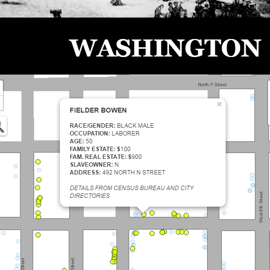 <p>Placing Segregation explores housing segregation and socioeconomic disparities across select nineteenth century American cities through interactive maps and interpretations. This digital edition puts historical census records into an interactive map application, allowing audiences to conduct all kinds of exploratory work such as searching records by name, filtering by occupational groups, or just clicking on points to read about various individuals.</p>