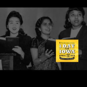 1 Day for Iowa - Iowa Women's Archives