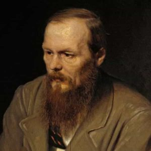 Painting of Dostoevsky